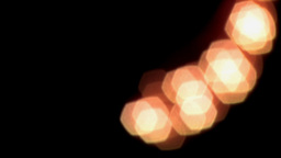 2D Animated Blur Light Curve Stock Video Footage