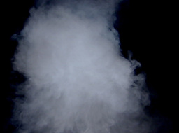 White Smoke Effect (Close-Up View) Stock Video Footage
