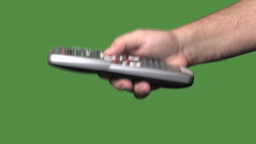 Man using remote controller Stock Video Footage
