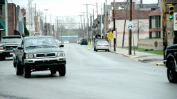 Vehicles on the street Stock Video Footage