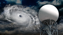 Weather satellite Stock Video Footage