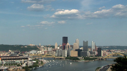 City Skyline Stock Video Footage
