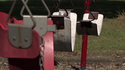 Swing close-up Stock Video Footage