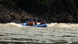 Bumper Rafting Stock Video Footage
