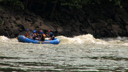 Bumper Rafting Stock Video Footage