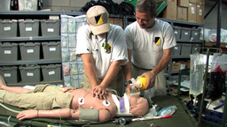 CPR class Stock Video Footage