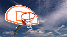 basketball hoop Stock Video Footage