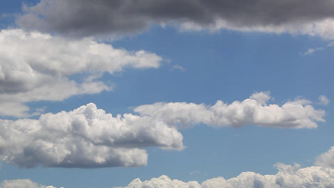 Blue sky Stock Video Footage