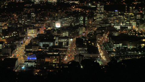 city dark time lapse Stock Video Footage