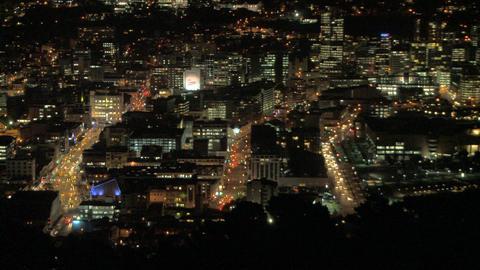 city dark time lapse Stock Video Footage
