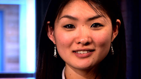 A portrait of an attractive Japanese businesswoman Live Action
