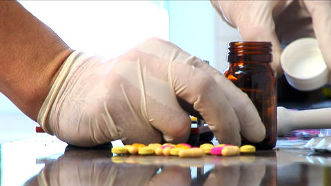 PHARMACY 12 Stock Video Footage