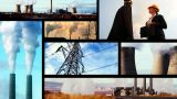 Montage Of Clips Showing Sources Of Heavy Pollution stock footage