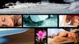 Collection Of Health & Beauty Spa Images stock footage