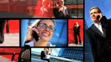 Collection Of Business And Communication Shots stock footage