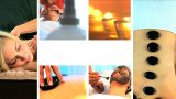 Collection Of Health And Beauty Spa Images stock footage