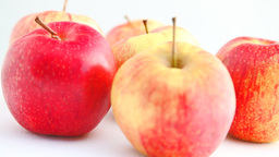 Turning Apples HD Stock Video Footage