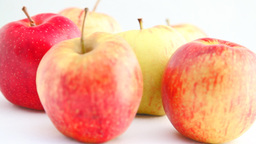 Turning Apples HD stock footage