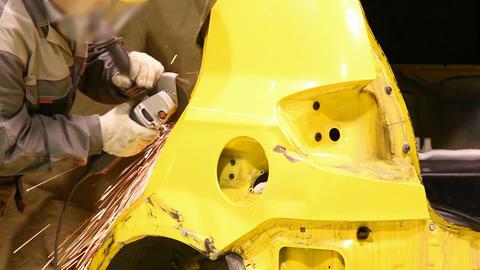 Car repair shop Stock Video Footage
