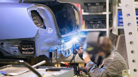 Car repair shop Footage