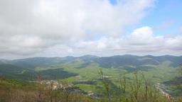 Mountain landscape timelapse Stock Video Footage