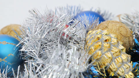 Turning Cristmas decoration HD Stock Video Footage