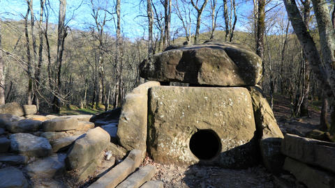 Dolmen timelapse Stock Video Footage