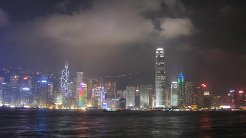 hong Kong harbor HD Stock Video Footage