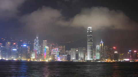 hong Kong harbor HD Stock Video Footage