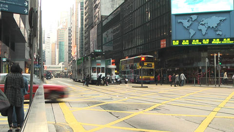 Hong Kong island edit 0994 HD Stock Video Footage