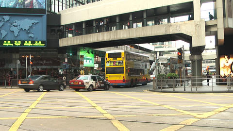 Hong Kong island edit 0997 HD Stock Video Footage