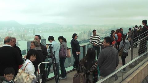 Hong Kong peak edit 0078 HD Stock Video Footage