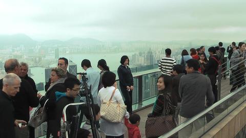 Hong Kong peak edit 0078 HD Footage