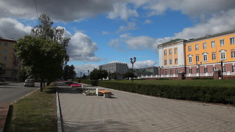 Street in Izhevsk Footage