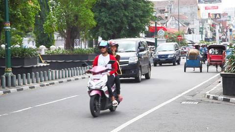 Jogjakarta city Footage