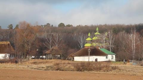 Pirogovo museum in Kiev Footage