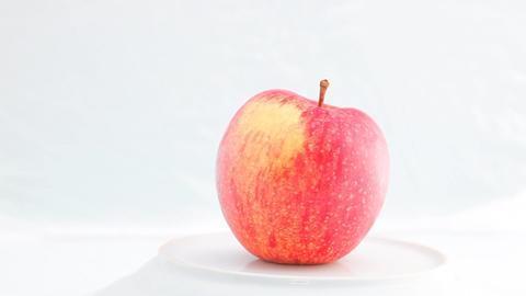 Turning Apple HD Stock Video Footage
