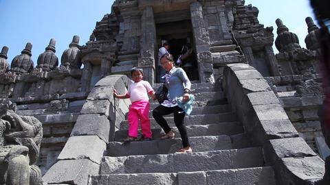 Prambanan temple Footage