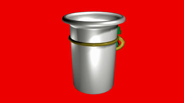 Rotation of 3D cup.coffee,Barrel,Toy,jewelry,leaves,decorative,Christmas,gifts,d Animation