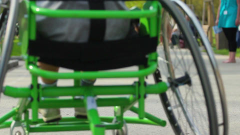 Wheelchair Stock Video Footage