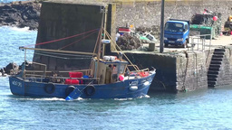 Lobster Boat 2 Stock Video Footage