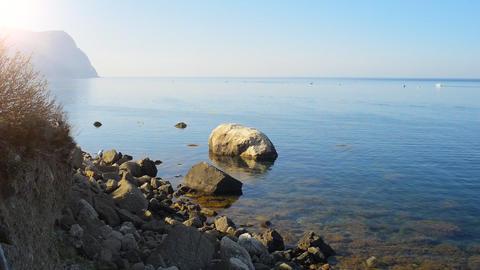 Beautiful sea landscape Stock Video Footage