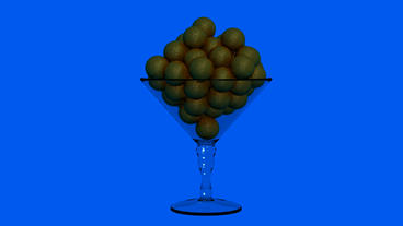 Chalice with Chocolate... Stock Video Footage