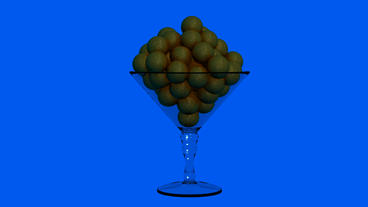 Chalice with Chocolate Dessert.Glass,Sentiment,wine,alcohol,drink,bottle,beverag Animation