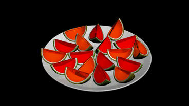 A Plate Of Oranges.fruit,plates,dishes,fresh,citrus,food,juice,healthy,sweet,slice,organic,diet,natu stock footage