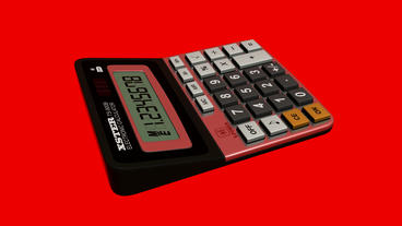 Calculator.business,office,accounting,finance,button,work,object,financial,numbe Animation