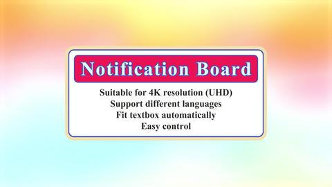 Notification board LITE