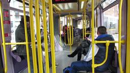 Luas Tram 1 Stock Video Footage