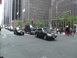 Manhattan Traffic 1 Stock Video Footage