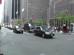 Manhattan Traffic 1 Stock Video Footage